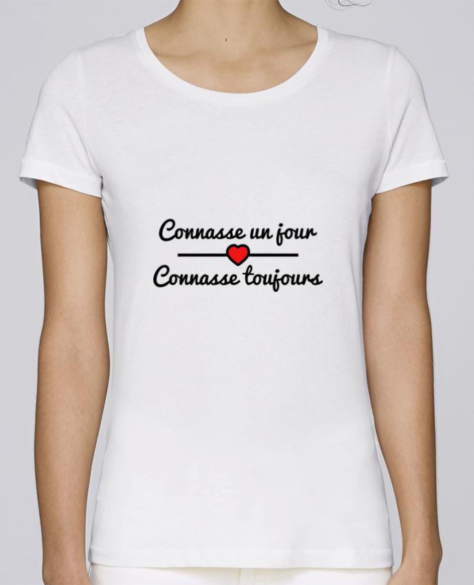 T-shirt Femme Stella Loves Connasse un jour, connasse toujours par Benichan