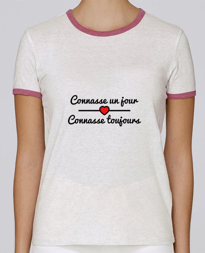 T-shirt Femme Stella Returns Connasse un jour, connasse toujours pour femme par Benichan