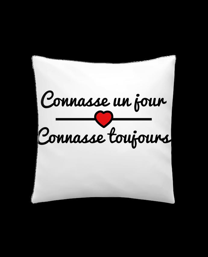 Coussin Synthétique Doux 41 x 41 cm Connasse un jour, connasse toujours par Benichan