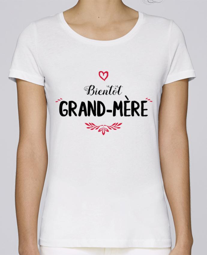 T-shirt Femme Stella Loves Bientôt grand-mère par tunetoo