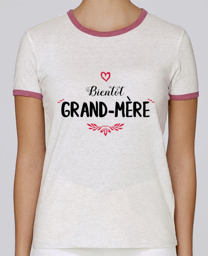 T-shirt Femme Stella Returns Bientôt grand-mère pour femme par tunetoo