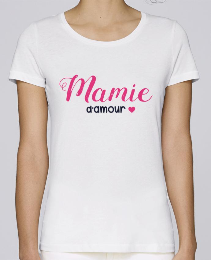 T-shirt Femme Stella Loves Mamie d'amour par tunetoo