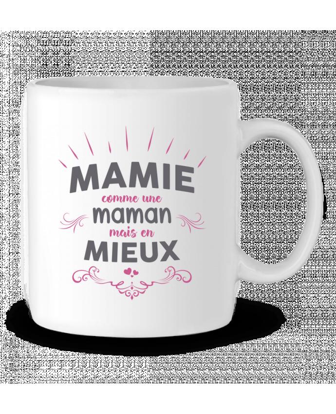 Mug  Mamie comme une maman mais en mieux par tunetoo