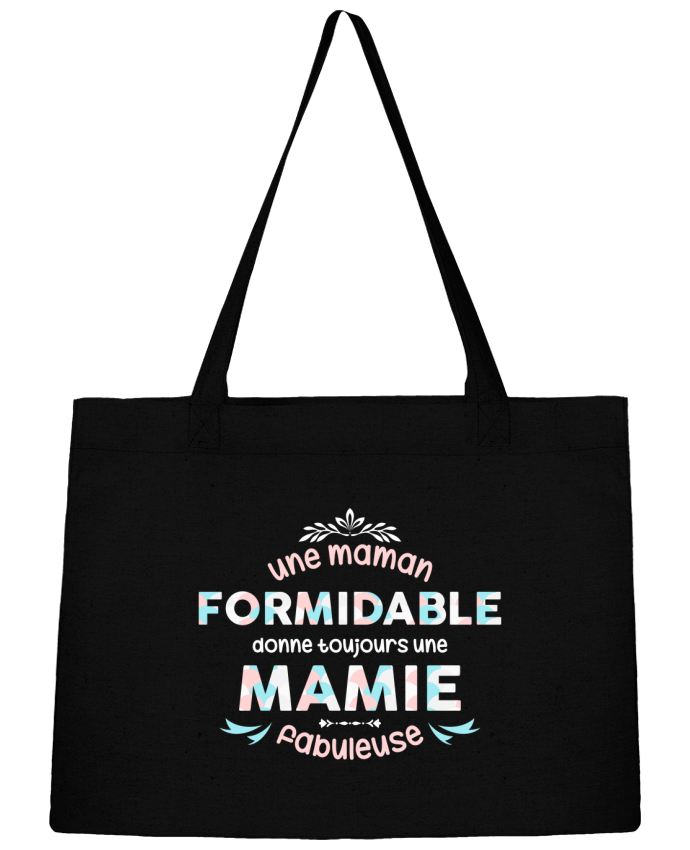 Sac Cabas Shopping Stanley Stella maman formidable = mamie fabuleuse par tunetoo