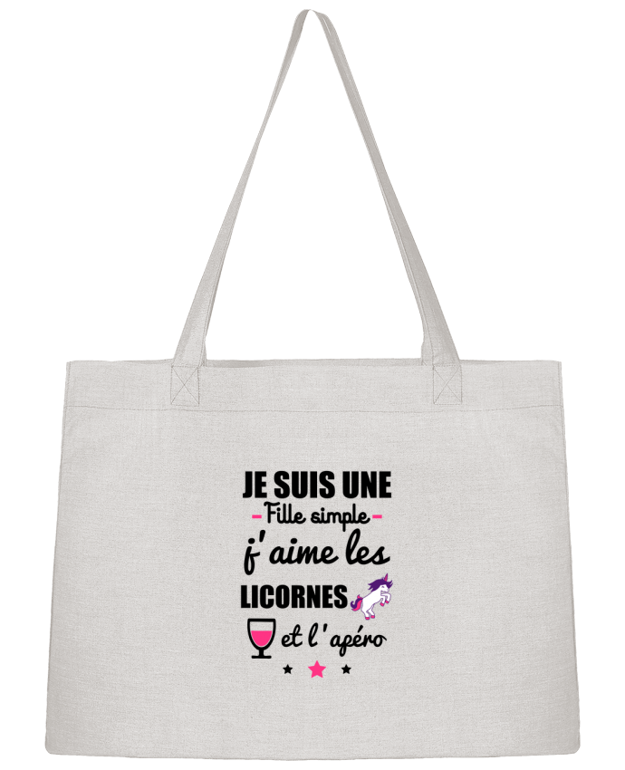 Sac Cabas Shopping Stanley Stella Je suis une fille simple, j