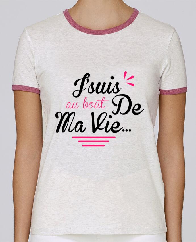 T-shirt Femme Stella Returns j'suis au bout de ma vie pour femme par Milie