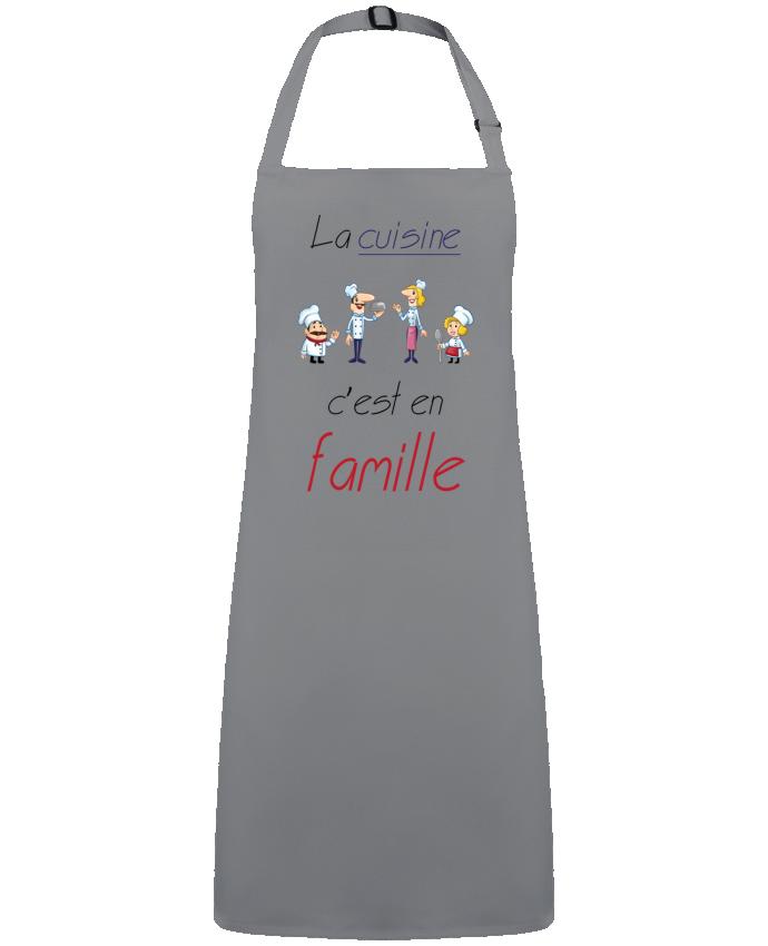 Tablier Sans Poche Cuisine en famille par  Leo