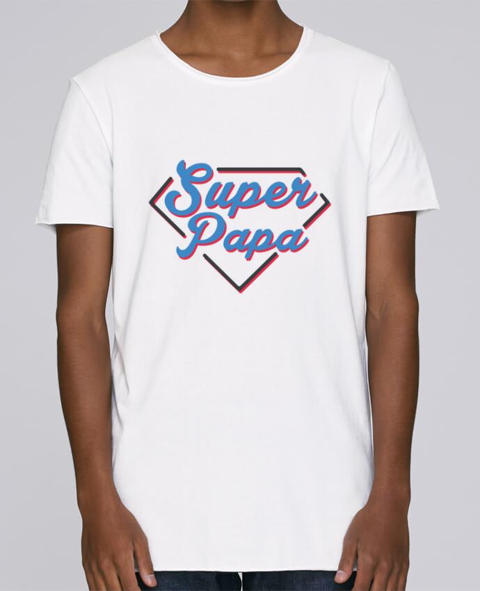 T-shirt Homme Oversized Stanley Skates Super papa par tunetoo