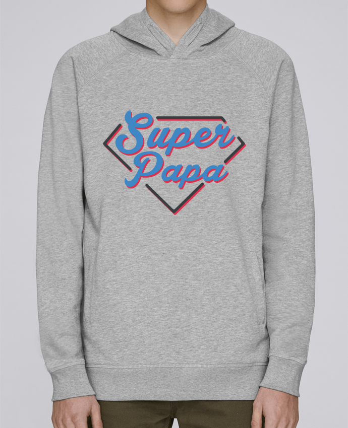 Sweat Capuche Homme Stanley Base Super papa par tunetoo