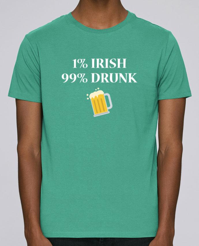 T-Shirt Col Rond Stanley Leads 1% Irish 99% Drunk par tunetoo