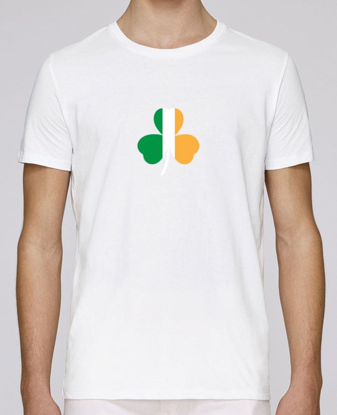 T-Shirt Col Rond Stanley Leads Shamrock Irish flag par tunetoo