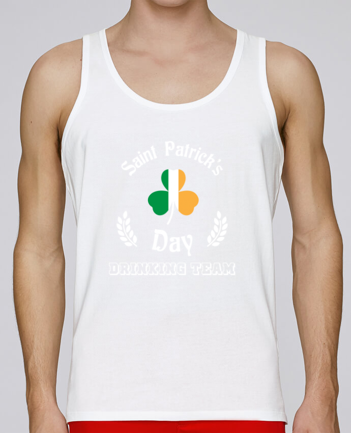 Débardeur Bio Homme Stanley Runs Saint Patrick Drinking Team par tunetoo 100% coton bio