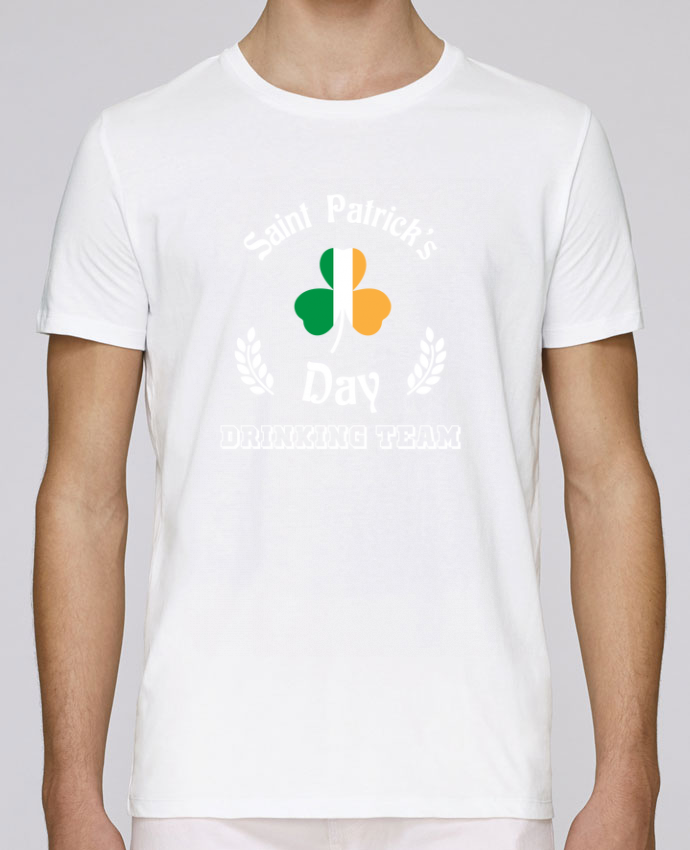 T-Shirt Col Rond Stanley Leads Saint Patrick Drinking Team par tunetoo