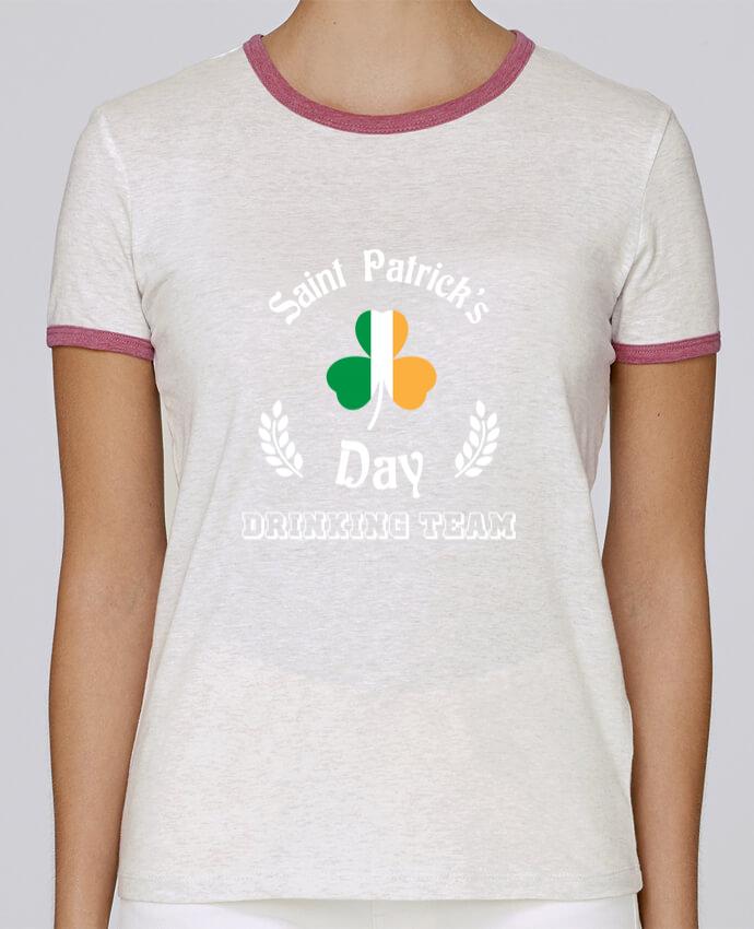 T-shirt Femme Stella Returns Saint Patrick Drinking Team pour femme par tunetoo