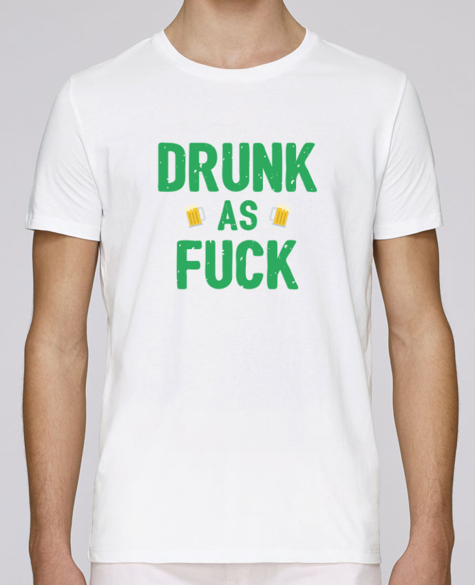 T-Shirt Col Rond Stanley Leads Drunk as fuck par tunetoo