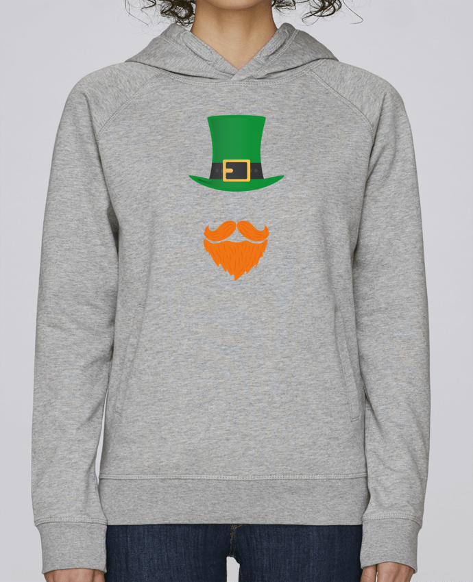 Sweat Capuche Femme Stanley Base Leprechaun par tunetoo