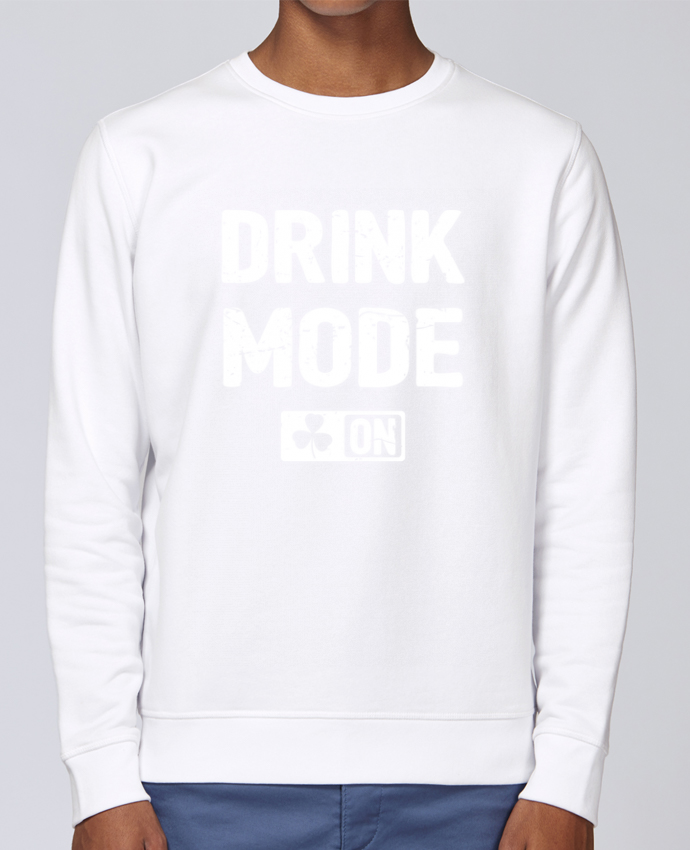 Sweat Col rond Unisex Stanley Stella Rise Drink Mode On par tunetoo
