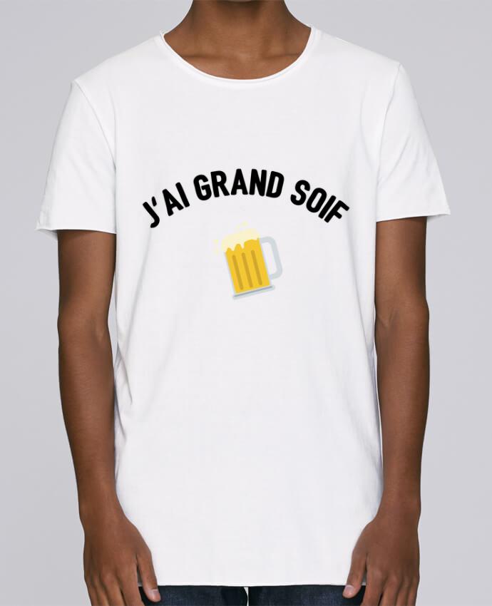 T-shirt Homme Oversized Stanley Skates J'ai grand soif ! par tunetoo