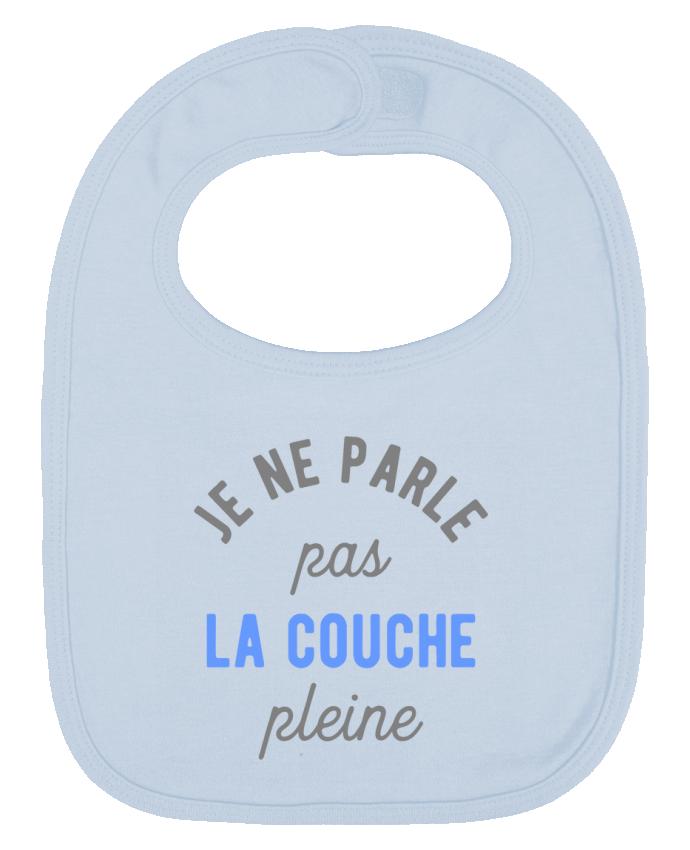 Bavoir Uni et Contrasté La couche pleine drôle par Original t-shirt
