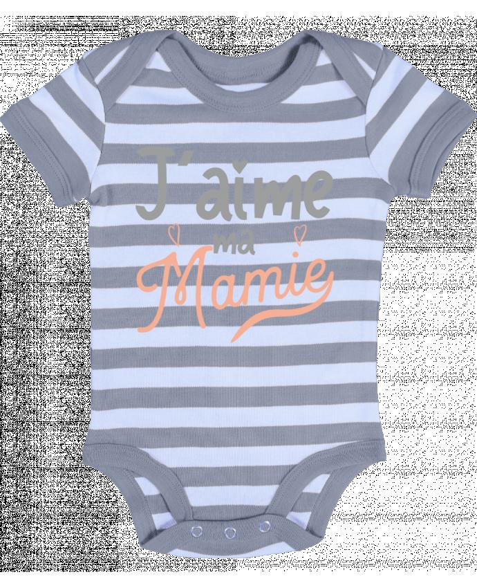 Jaime MA Mamie ray/é b/éb/é Bodysuit