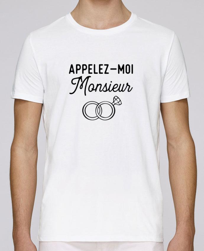 T-Shirt Col Rond Stanley Leads Appelez moi monsieur cadeau mariage evg par Original t-shirt
