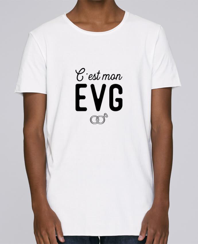 T-shirt Homme Oversized Stanley Skates C'est mon evg cadeau mariage evg par Original t-shirt
