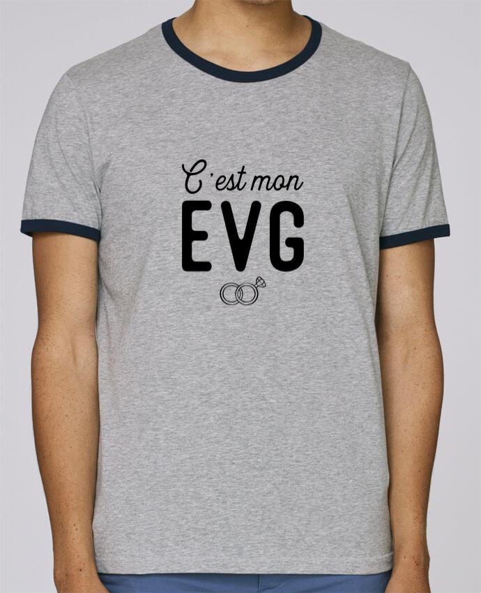 T-Shirt Ringer Contrasté Homme Stanley Holds C'est mon evg cadeau mariage evg pour femme par Original t-shirt