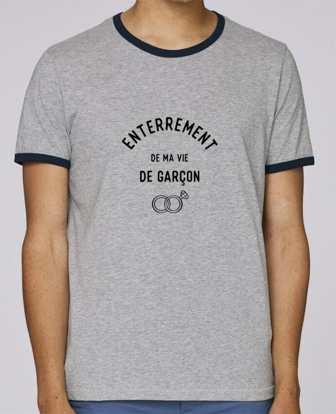 T-Shirt Ringer Contrasté Homme Stanley Holds Ma vie de garçon cadeau mariage evg pour femme par Original t-shirt