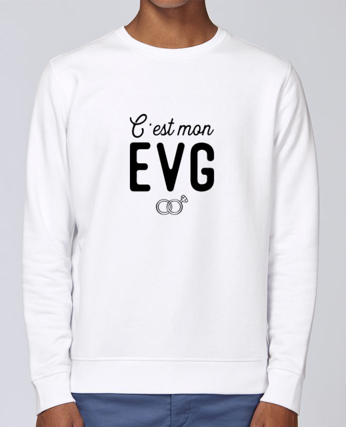 Sweat Col rond Unisex Stanley Stella Rise C'est mon evg cadeau mariage evg par Original t-shirt