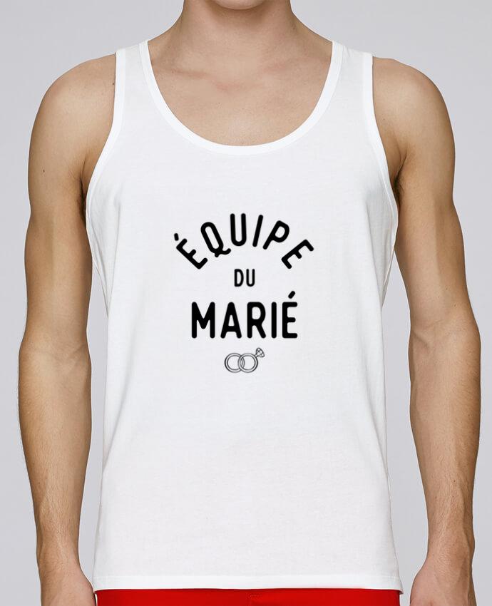 Débardeur Bio Homme Stanley Runs équipe Du Marié Cadeau Mariage Evg Par Original T Shirt 100 Coton Bio