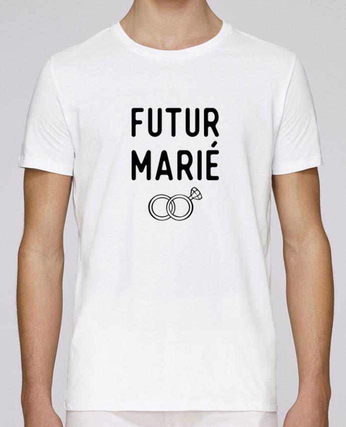T-Shirt Col Rond Stanley Leads Futur marié mariage evg par Original t-shirt