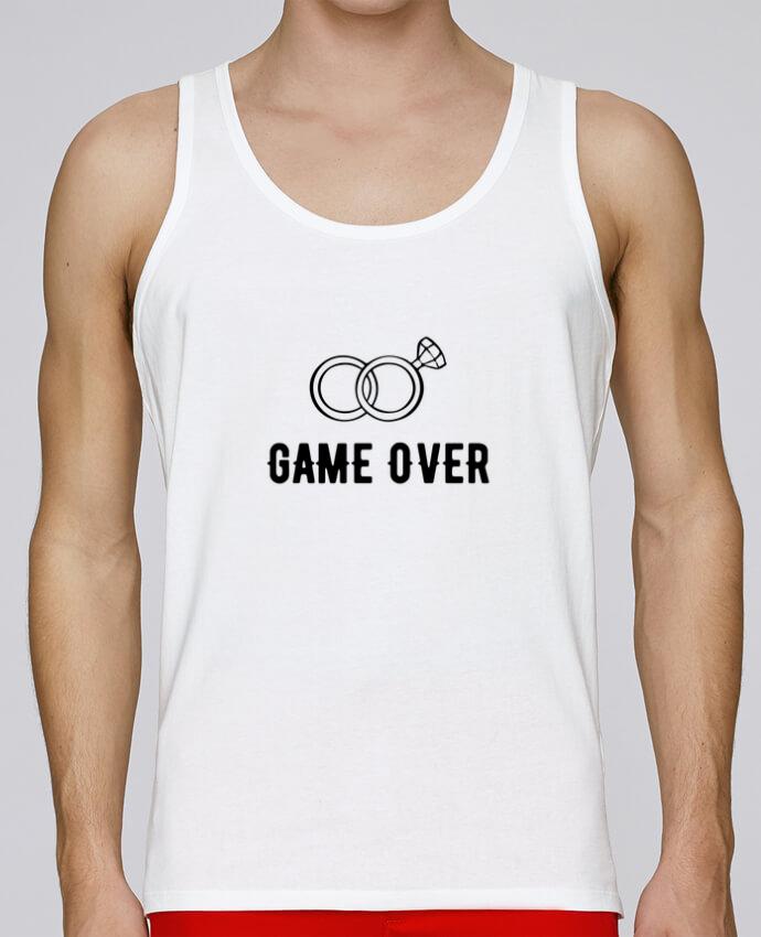 a0ec8ce7c75d1 Débardeur Bio Homme Stanley Runs Game over mariage evg par Original t-shirt  100%