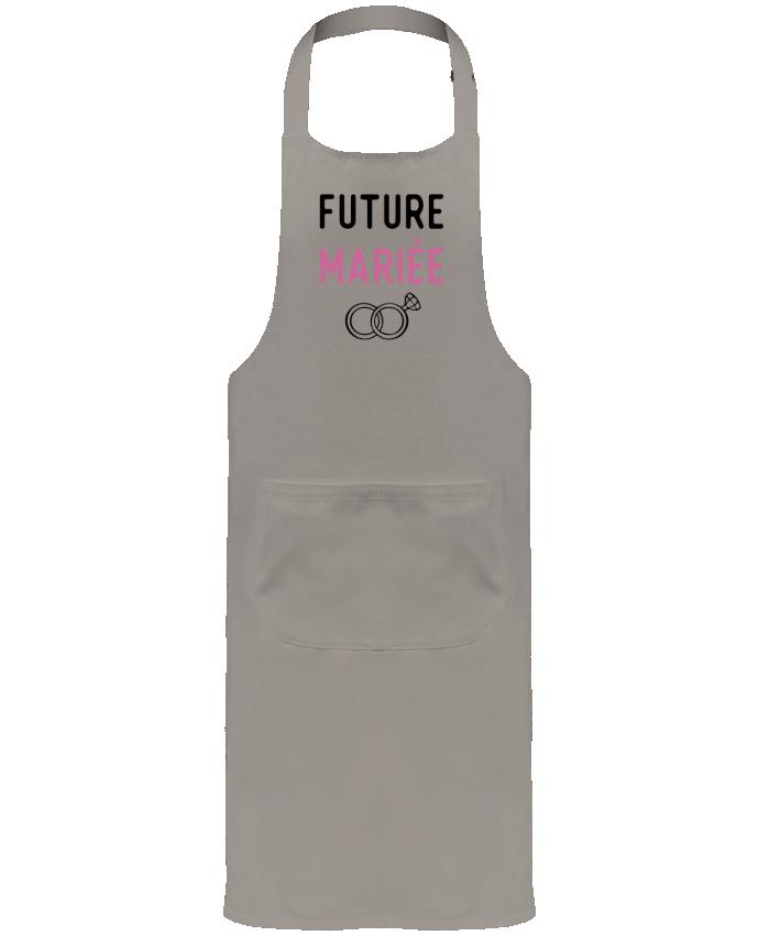 Tablier de Jardinier ou Sommelier avec Poche Future mariée cadeau mariage evjf par Original t-shirt