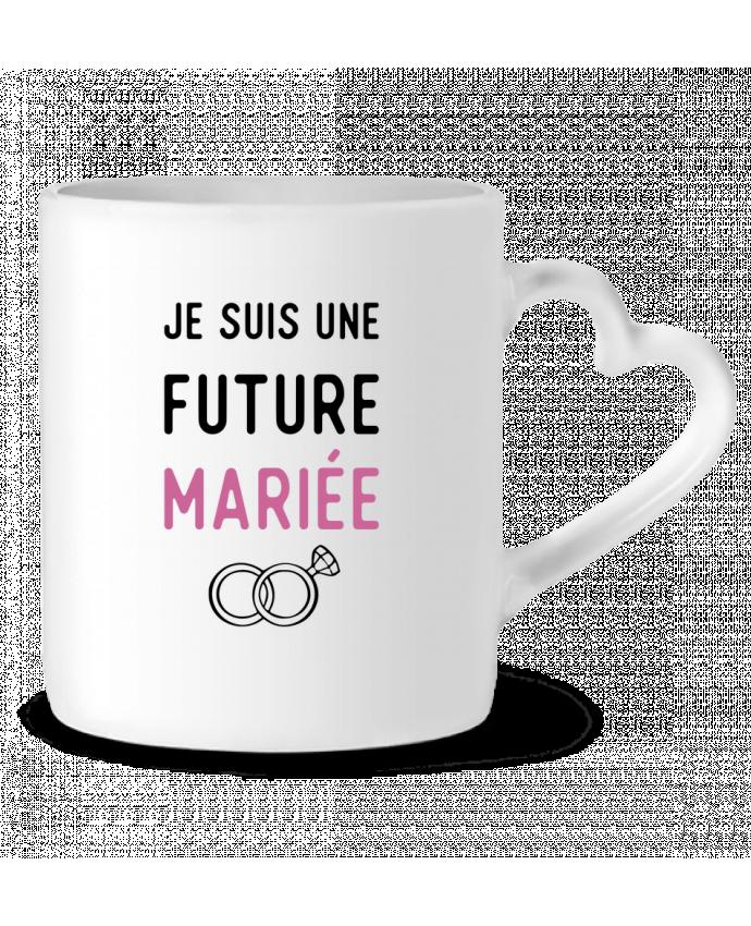 Mug Coeur Je suis une future mariée cadeau mariage evjf par Original t-shirt
