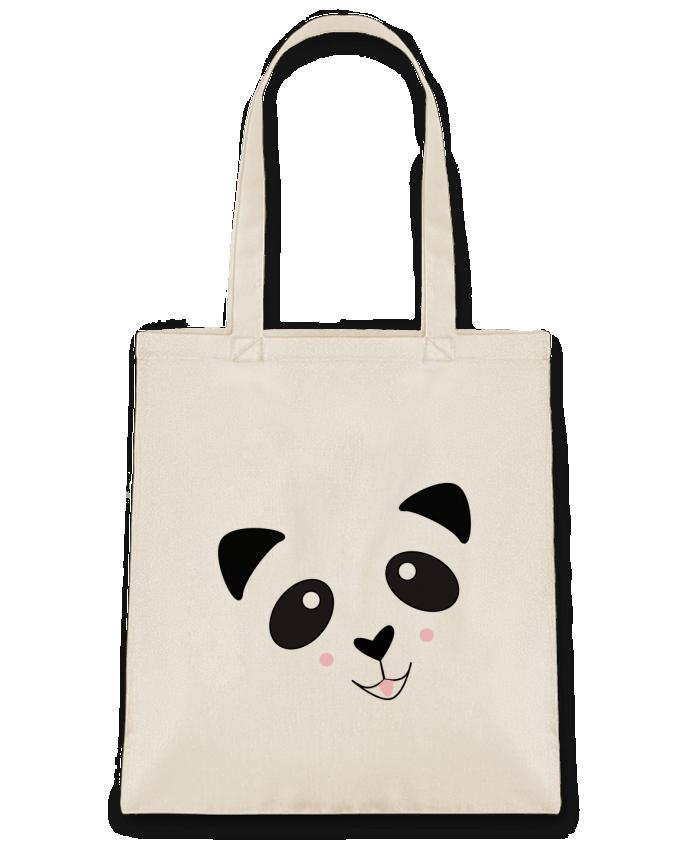 Sac en Toile Coton Bébé Panda Mignon par K-créatif