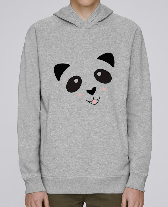 Sweat Capuche Homme Stanley Base Bébé Panda Mignon par K-créatif