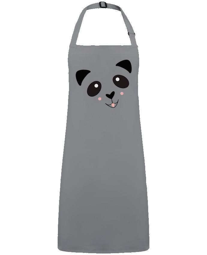 Tablier Sans Poche Bébé Panda Mignon par  K-créatif