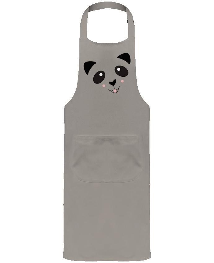 Tablier de Jardinier ou Sommelier avec Poche Bébé Panda Mignon par K-créatif