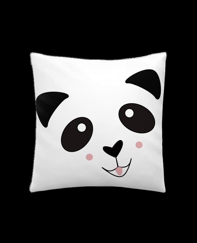 Coussin Synthétique Doux 41 x 41 cm Bébé Panda Mignon par K-créatif