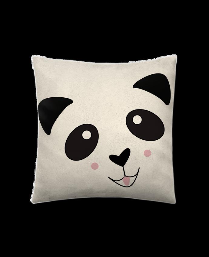 Coussin Toucher Peau de Pêche 41 x 41 cm Bébé Panda Mignon par K-créatif