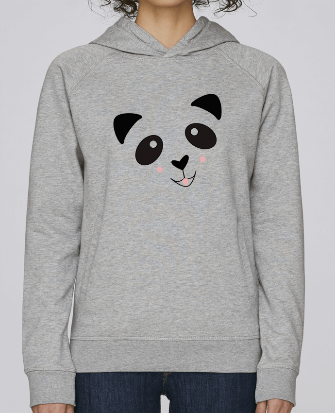 Sweat Capuche Femme Stanley Base Bébé Panda Mignon par K-créatif