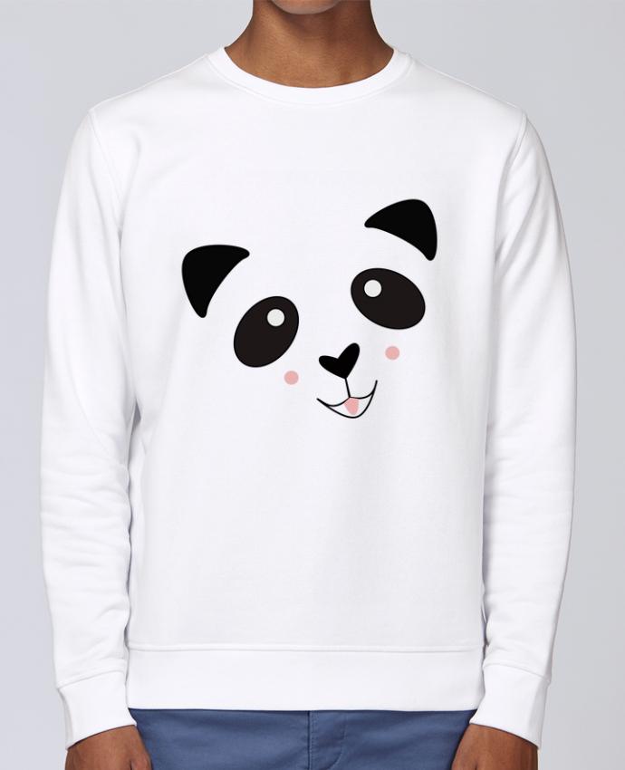 Sweat Col rond Unisex Stanley Stella Rise Bébé Panda Mignon par K-créatif