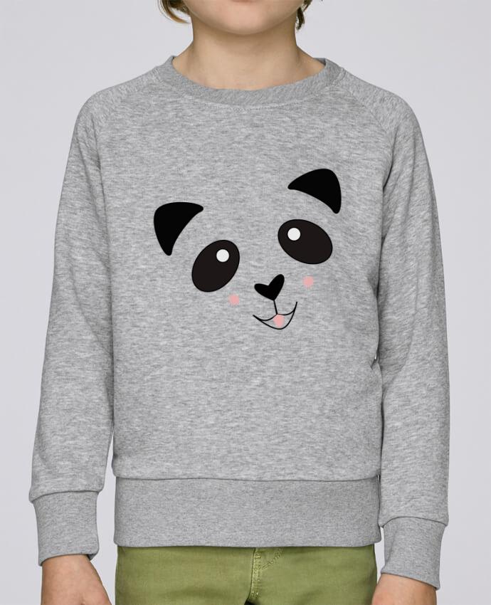 Sweat Col Rond Enfant Stanley Mini Scouts Bébé Panda Mignon par K-créatif