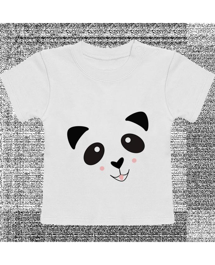 T-Shirt Bébé Manches Courtes Bébé Panda Mignon manches courtes du designer K-créatif