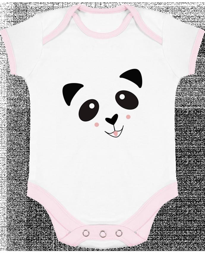 Body Bébé Contrasté Bébé Panda Mignon par K-créatif