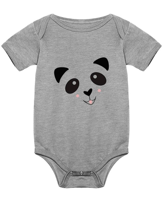 Body Bébé Bébé Panda Mignon par K-créatif