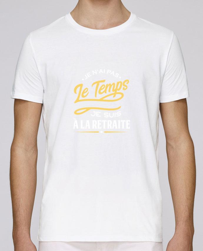 T-Shirt Col Rond Stanley Leads Je suis à la retraite par Original t-shirt