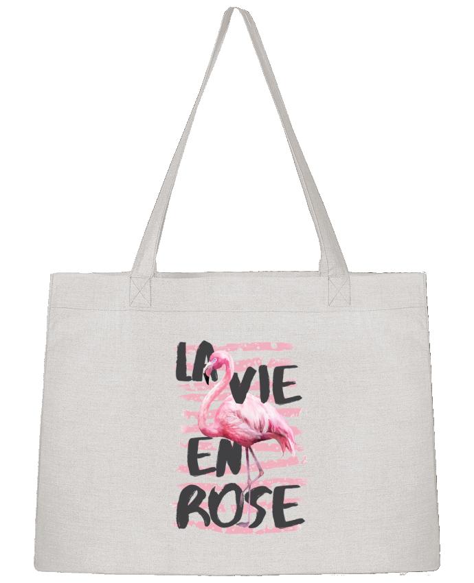 Sac Cabas Shopping Stanley Stella La vie en rose par tunetoo