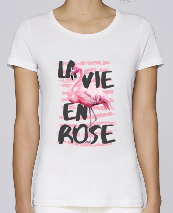 T-shirt Femme Stella Loves La vie en rose par tunetoo