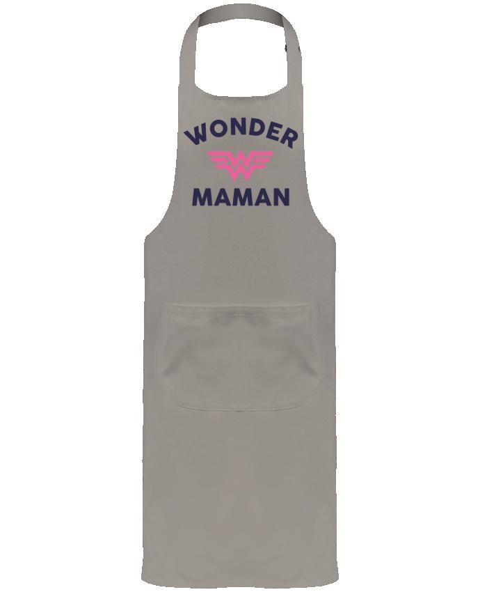 Tablier de Jardinier ou Sommelier avec Poche Wonder Maman par tunetoo